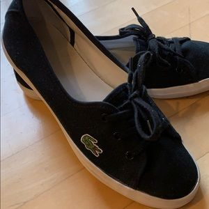 Lacoste  black sneakers